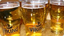 No meal is complete w.o. a Viking Beer