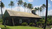 Ancient Church in Maui, Hawaii