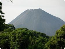 View of Volcano Izalco from Campo Bello