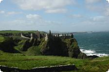 Striking Dunluce Castle