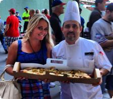$26 Boomstick hotdog at Rangers Ballpark