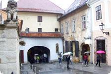 Upper Town in Zagreb