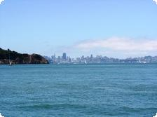 view of San Francisco from Sams