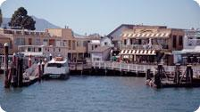 Fine food at the Tiburon dock