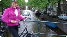 Teresa in Amsterdam