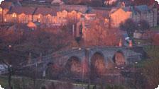 Stirling Bridge at Sunset