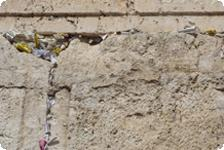 Notes in the Western Wall.