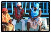 Garifuna performance in La Ceiba
