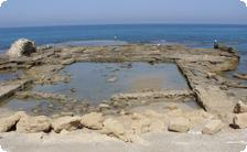 The pool of King Herods ancient palace