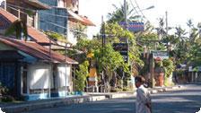 Jalan Danau Tamblingan Strip in Sanur
