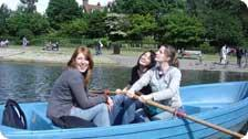 Boating in Regent's Park