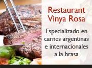 Restaurant Argentina Vinya Rosa Barcelona