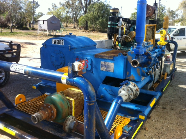 Unitised 440 Trash Pump (Tango Oilfield Rental Solutions)