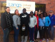 Wadeye Girls Project runners with Tango team.