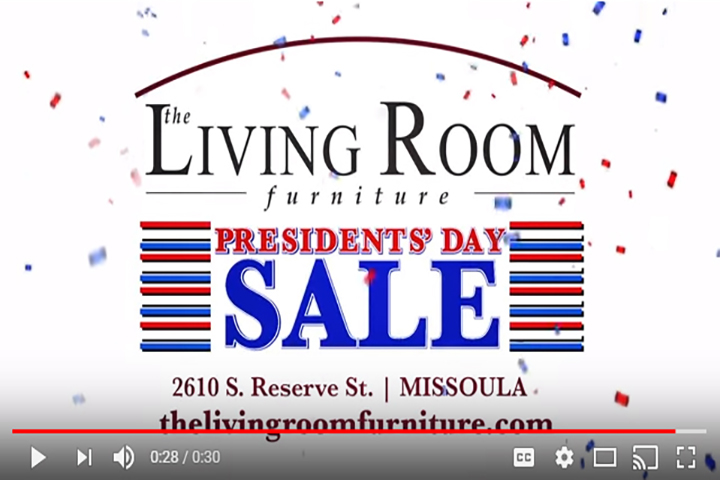 The Living Room Furniture - Presidents Day Sale