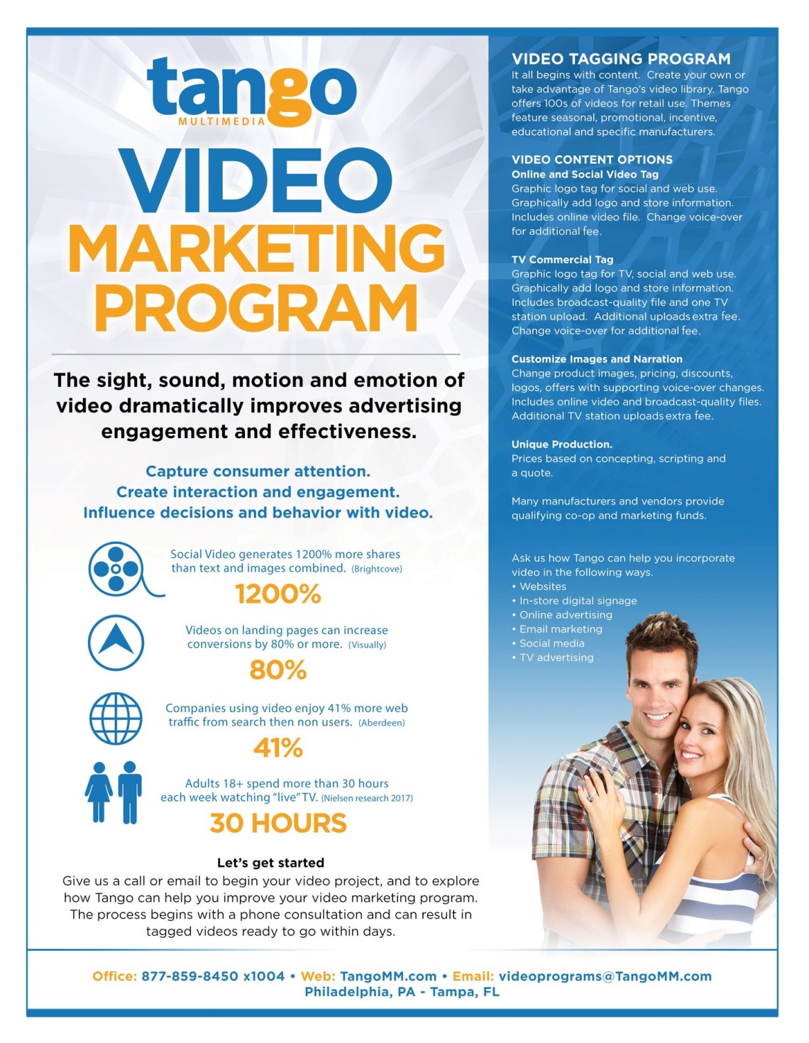 Video Marketing Program by Tango Multimedia