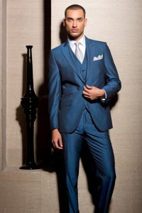 Royal Blue Mohair suit