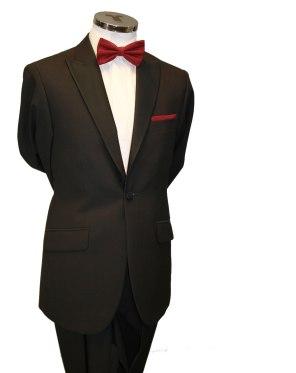 Peak lapel slim fit tuxedo