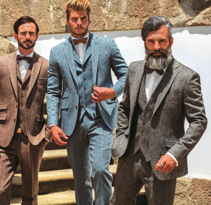 2018 Tweed Wedding Suit Range – Tangos Suit Hire