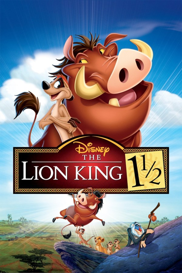 Lion King 1 2 DVD