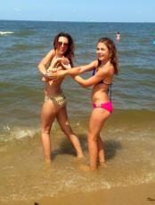 My 13 year old daughter, Gia and I at Rehoboth Beach in the Summer of 2014!