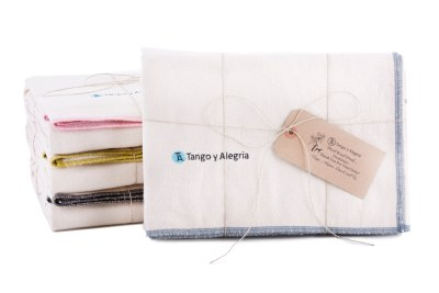 Packaged Organic Cotton Flannel Dog Blankets