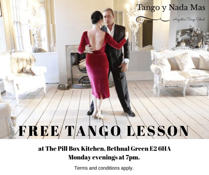 Free Tango Lesson