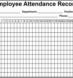 Time And Attendance Worksheet   Printable Worksheets and Activities for  Teachers [ 2188 x 3583 Pixel ]
