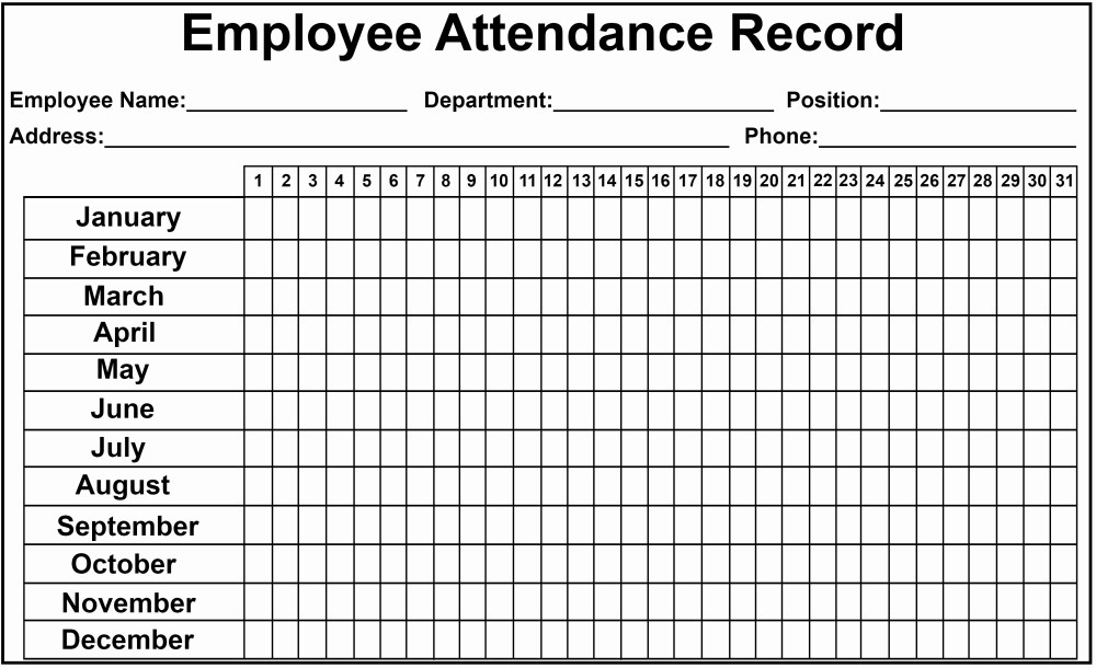 medium resolution of Time And Attendance Worksheet   Printable Worksheets and Activities for  Teachers