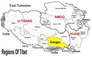 tibet map 2