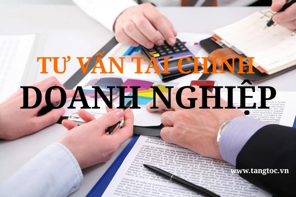 Tư vấn tài chính doanh nghiệp