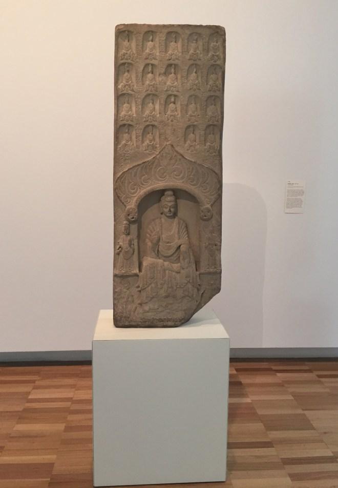 Buddhist-stele