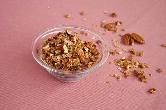 cinnamon-pecan granola | Browniebox_2