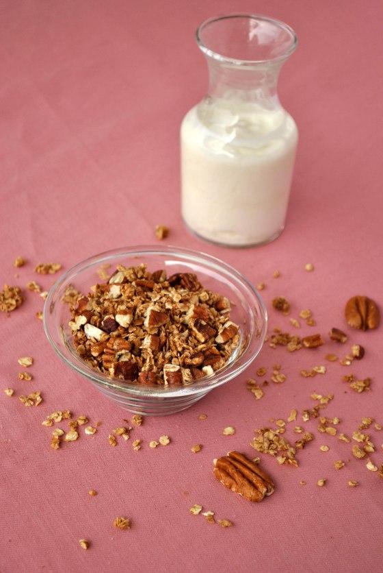 cinnamon-pecan granola | Browniebox_3