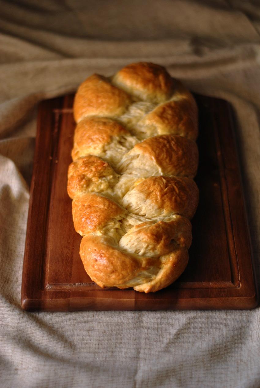 Zopf Bread braided