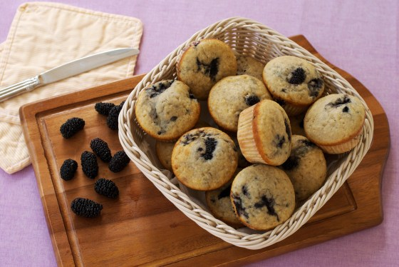 blackberry muffins 3