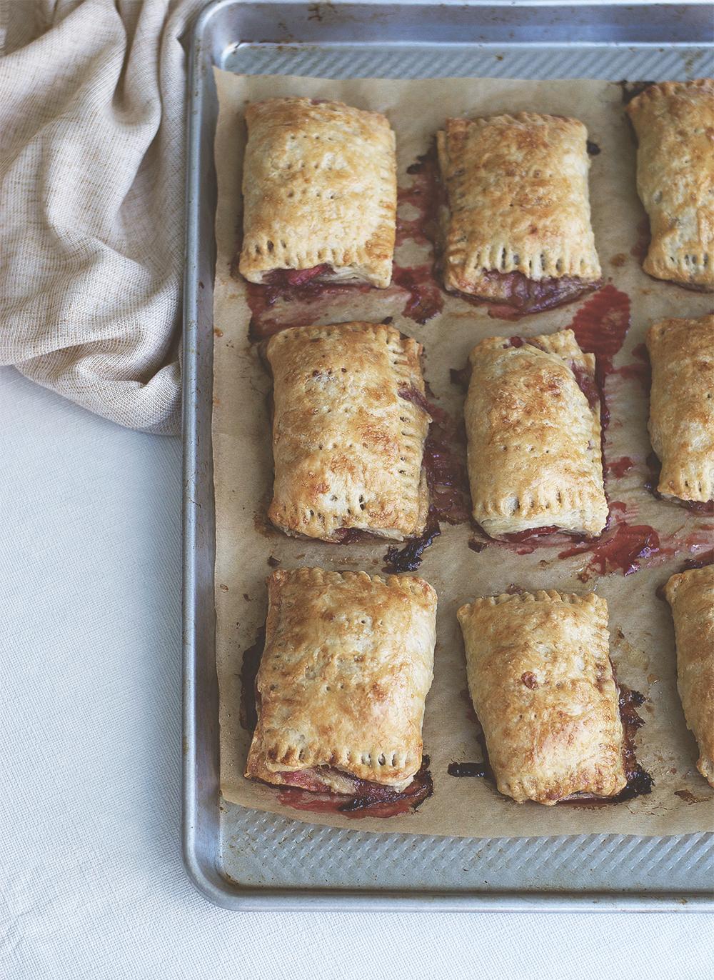 Strawberry Rhubarb Hand Pies | Brownie Box