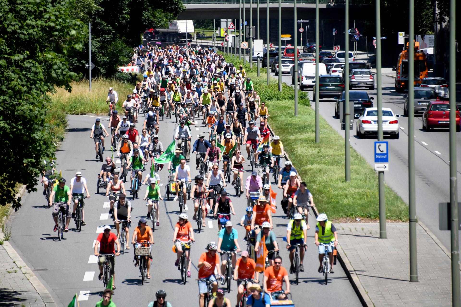 Große Radsternfahrt am 11.9. für grundlegende Mobilitätswende