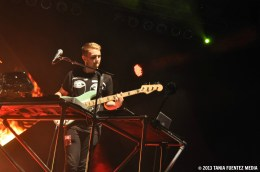 DISCLOSURE'S HOWARD LAWRENCE AT CENTRAL PARK SUMMERSTAGE