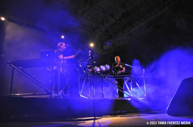 GUY AND HOWARD LAWRENCE OF DISCLOSURE AT NYC 'S SUMMERSTAGE