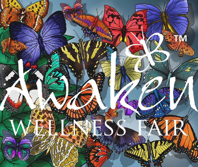 I was an Awaken Wellness Fair Speaker!