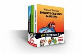 Burzliwe dzieje pirata Rabarbara - Burzliwe dzieje pirata Rabarbara + Dalsze burzliwe dzieje pirata Rabarbara + Jeszcze dalsze burzliwe dzieje pirata Rabarbara - Wojciech Witkowski