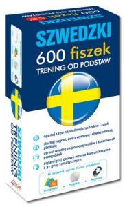 Szwedzki 600 fiszek Trening od podstaw + CD 182x300 - Szwedzki 600 fiszek Trening od podstaw + CD (komplet) - Mariusz Jachimczuk