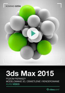 3ds Max 210x300 - 3ds Max Kurs video. Poziom pierwszy. Modelowanie 3D, oświetlenie i renderowanie