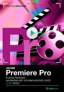 Adobe Premiere Pro 210x300 - Adobe Premiere Pro. Kurs video. Poziom pierwszy. Najważniejsze techniki montażu video