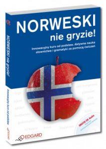Norweski nie gryzi 213x300 - Norweski nie gryzie! Innowacyjny kurs od podstaw. Aktywna nauka słownictwa i gramatyki za pomocą ćwiczeń + CD Dorota Klinkosz