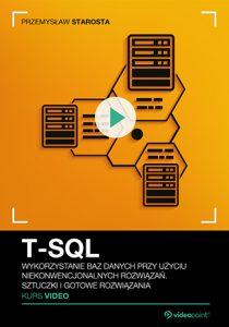 T SQL 210x300 - T-SQL. Kurs video. Wykorzystanie baz danych przy użyciu niekonwencjonalnych rozwiązań. Sztuczki i gotowe rozwiązania