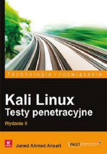 Kali Linux 210x300 - Kali Linux Testy penetracyjneJoseph Muniz Aamir Lakhani