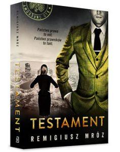 Testament 237x300 - Testament Chyłka tom 7Remigiusz Mróz