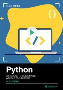 Python 210x300 - Python. Kurs video. Kreacyjne i strukturalne wzorce projektowe